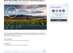 Win $500 toward a trip to Tasmania