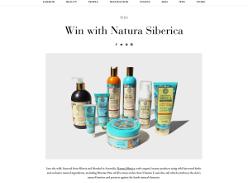 Win $500 worth of Natura Siberica's Oblepikha Siberica range