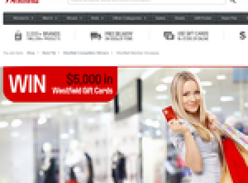 Win $5000 in Westfield Gift Cards or Holiday Vouchers