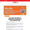 Win $5k in a Bankwest account