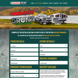 Win $90K worth of Grunt!
