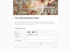 Win a $1,000 bedding package!
