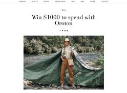 Win a $1,000 Clothing Voucher