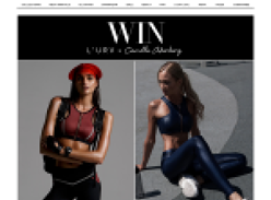 Win a $1,000 L'URV wardrobe & Camilla Akerberg's BodyPower eBook!