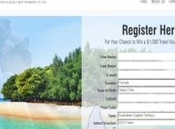 Win a $1,000 Travel Voucher