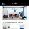 Win a $10,000 Gift Voucher from King Living!