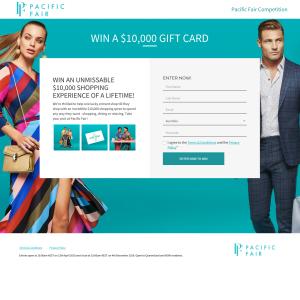 3313e7ad94d98 Pacific Fair - Win a $10,000 Pacific Fair gift card - Competitions ...