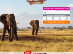 Win a $10,000 Safari Adventure