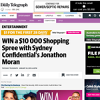 Win a $10,000 shopping spree with Sydney Confidential's Jonathon Moran!