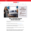 Win a $10,000 Snooze dream bedroom