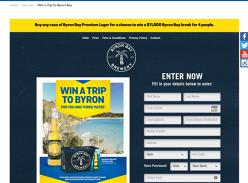 Win a $11,000 Byron Bay break for 4 people!