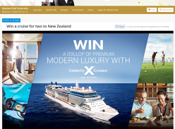 Win a 12-Day New Zealand Cruise