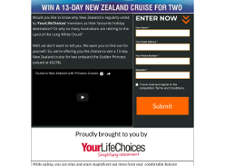 Win a 13-Day New Zealand Cruise for Two