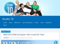 Win a $15,000 European River Cruise for 2!