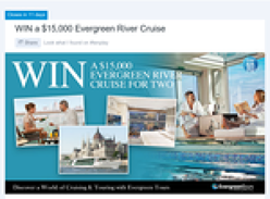 Win a $15,000 Evergreen River Cruise for 2!