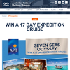 Win a 17 day expedition cruise!