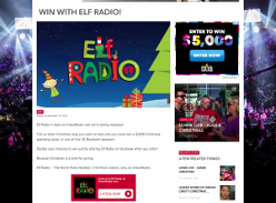 Win a $2,000 Christmas spending spree or 1 of 5 UE Bluetooth Speakers!