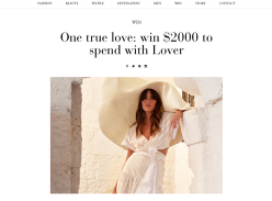 Win a $2,000 Summer Wardrobe