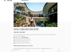 Win a $2,000 weekend at the Gold Coast!