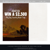 Win a $2,500 Big Sky Country Round Trip