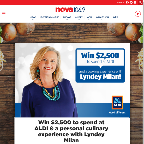Win a $2,500 Grocery Giftcard & More
