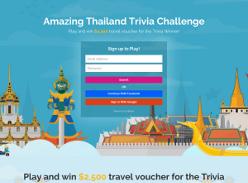 Win a $2,500 Travel voucher!
