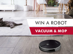 Win a 2 in 1 Liectroux robot vacuum and mop