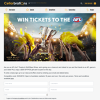 Win a $200 EFTPOS Gift Card & 6 Tickets to an AFL Game