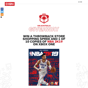 lowest price 23df7 a571e IGN - Win a $200 voucher to Sydney's Throwback Store ...
