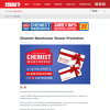 Win a $2000 Chemist Warehouse Voucher or 1 of 10 $200 Vouchers