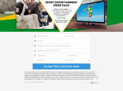 Win a $2000 Sport Entertainment prize pack