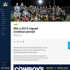 Win a 2019 signed North Queensland Toyota Cowboys Jersey