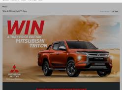 Win a 20MY Mitsubishi Triton