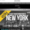 Win a $25,000 trip to New York for 2 including $10,000 spending money!