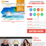 Win a $250,000 First Class Round the World Trip