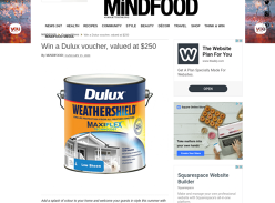 Win a $250 Dulux voucher!