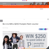 Win a $250 Pumpkin Patch voucher