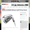 Win A $2500 Wilson Golf Prize Pack