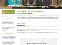 Win a 27-Day Tour of China