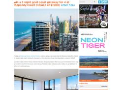 Win a 3 night Gold Coast Getaway for 4