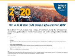 Win a $30,000 World Trip & More