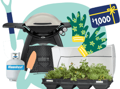 Win a $3000 Home and Garden Package