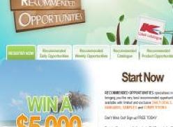 Win a $5,000 beach holiday!