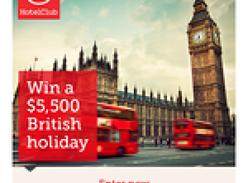 Win a $5,500 British Holiday