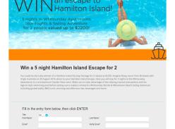 Win a 5 night Hamilton Island Escape for 2