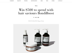 Win a $500 Haircare Package