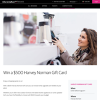 Win a $500 Harvey Norman Gift Card