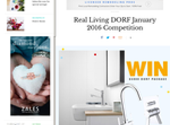 Win a $5000 DORF bathroomware package!