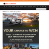 Win a $5000 Rebate or $5000 toward your next Caravan Purchase