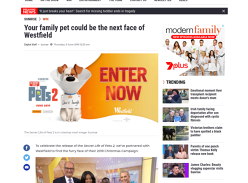 Win a $5K Westfield Voucher + Your pet could be the next face of Westfield!
